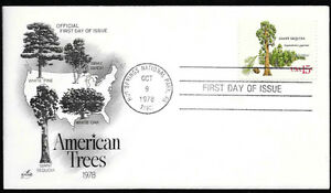 1978-First-Day-of-Issue-American-Trees