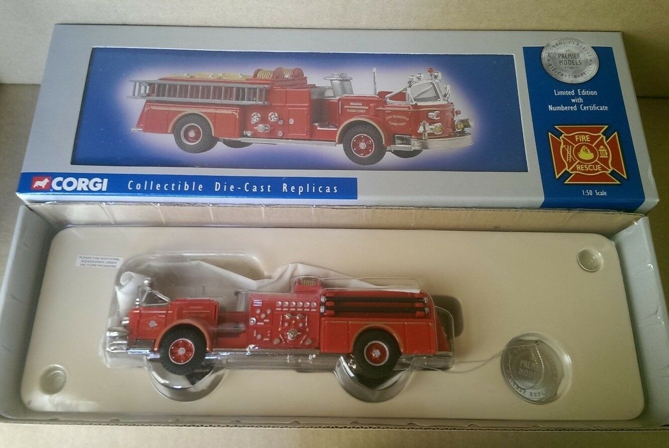 CORGI US51503 American la France Turbo Capo S. Francisco Ltd Ed N. 0232 del 4000