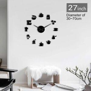Coffee-Wall-Clocks-Modern-Designs-Kitchen-Watches-Quartz-Acrylic-Mirror-Stickers