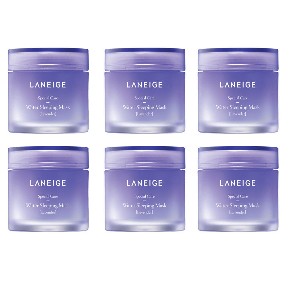 LANEIGE Water Sleeping Mask Lavender 15ml x 6pcs (90ml Total)