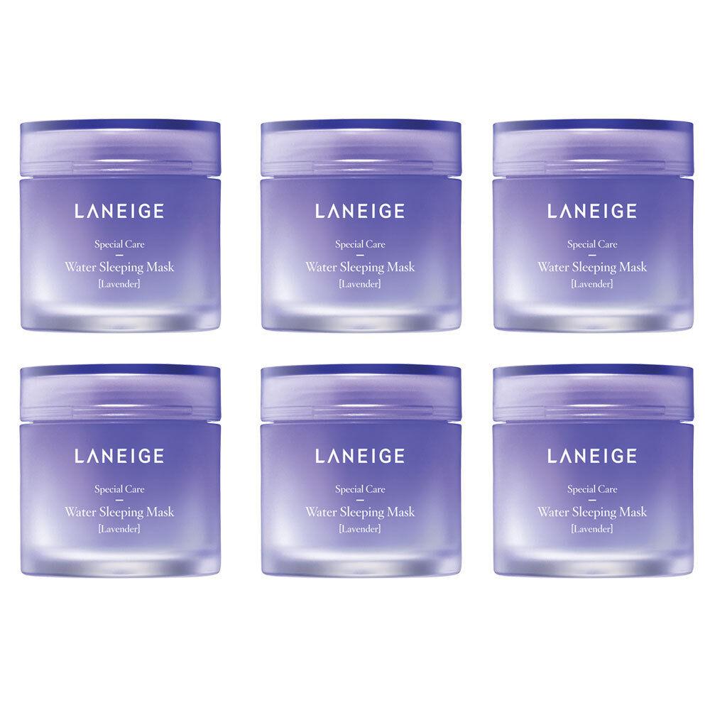 LANEIGE Water Sleeping Mask Lavender 15ml x 6pcs (90ml Total)