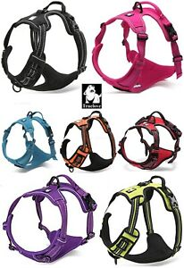 TRUELOVE-Dog-Puppy-Harness-Padded-Adjustable-amp-Reflective-Dogs-Harnesses-5-Sizes