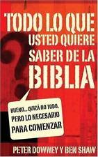 Todo lo que quieres saber de la Biblia: Bueno... quizás no todo, pero -ExLibrary