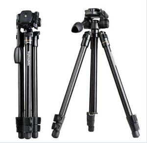 Q109 56 Inch 360 Degree Shooting Aluminum Travel Outdoor Tripod For Camera DV