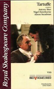 TARTUFFE-ROYAL-SHAKESPEARE-COMPANY-VHS-William-Anthony-Sher-Nigel-Hawthorne