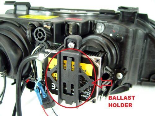 Stock Headlights Use x2 Xenon Ballast Holders For 97-00 BMW E39 5 Series DEPO