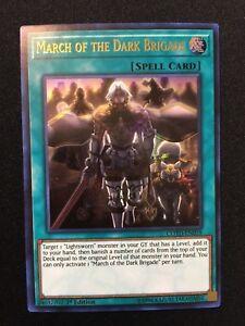 Yugioh Spell Card March of the Dark Brigade COTD-EN059 1st Edition Ultra Rare