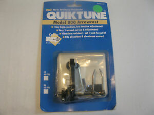New Archery Quicktune 800 Arrow Rest Lh/deer Hunting/bow/gun/target/compound Complete In Specifications Sporting Goods