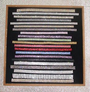 1f-3mm-5STRIP-IRON-ON-CHATON-CRYSTAL-BLING-REEL-ribbon-chain-diy-WEDDING-clothes