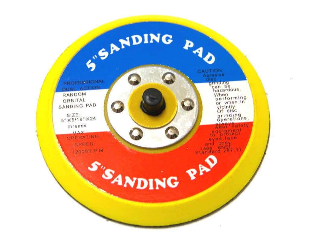 taztool 5 SANDING PAD HOOK & LOOP FACE FOR DA SANDER PALM  D/A SANDER SANDING DISC
