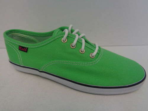 Keds Green Ladies Lace Up Canvas Trainers//Shoes KY37960