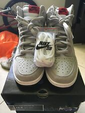 Nike SB DUNK HIGH PeeWee Herman Size 10.5 DEADSTOCK Simpson Doom Skunk Supreme