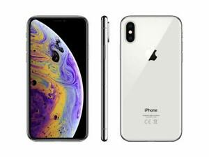 Apple iPhone XS Max A1921 512GB Silver Verizon T-Mobile AT&T Unlocked Smartphone
