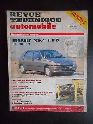 TECHNIQUE 1.9D CLIO 1 REVUE GRATUIT TÉLÉCHARGER