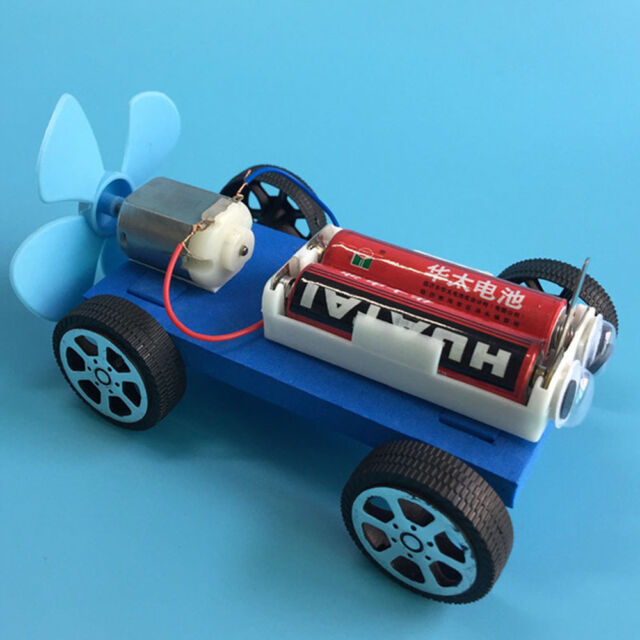 Diy Air Powered Car Assembly Model Kit Development Science