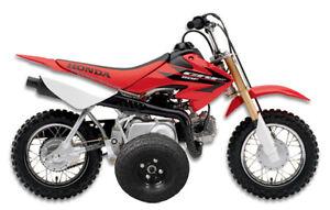 Adjustable-Height-HONDA-CRF50-CRF-XR-XR50-Z50-Z50R-50-KIDS-YOUTH-Training-Wheels