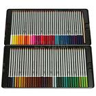 Assorted 24/36/48/72 Colors Water Color Pencils With Tin Case Drawing Stationery