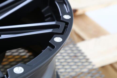 """10 Offset Satin Black MSA M33 Clutch 12/"""" ATV//UTV Wheel Rim 12x7 4//156"""