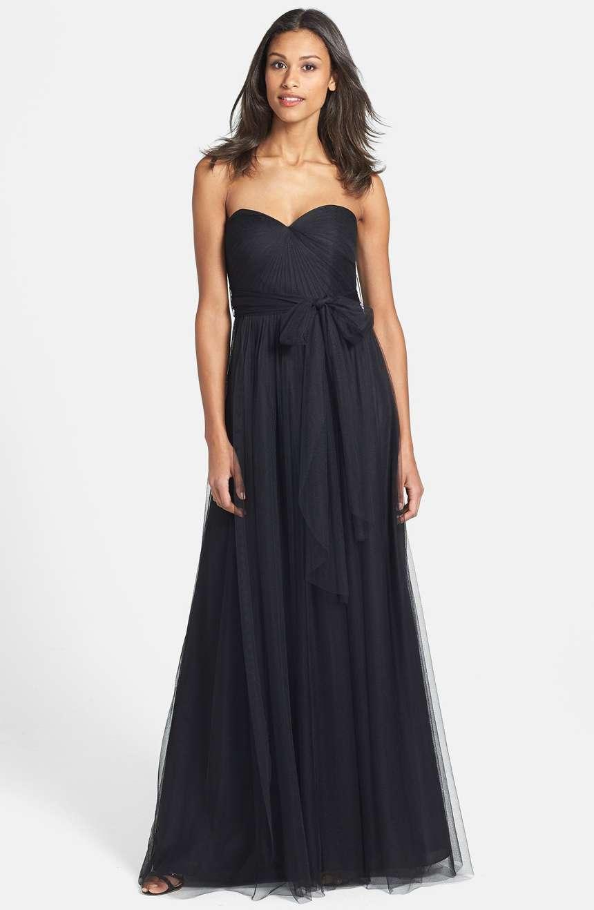 Jenny Joo 'Annabelle' Congreenible Tulle Column Dress (size 10)