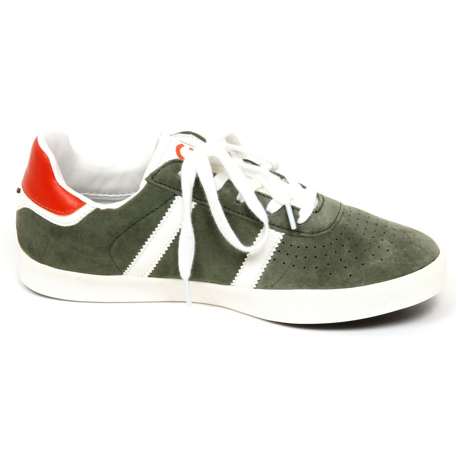 E9558 sneaker uomo green olive GAUDI' scarpe shoe man