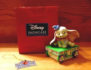 Jim Shore DISNEY Traditions Birthday Train DUMBO Age 3 Figurine 4043657 New MIB