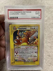 2003-Charizard-146-144-Skyridge-Crystal-Holo-Pokemon-PSA-9-POSSIBLE-REGRADE-10