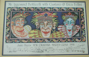 JAMIE-HAYES-NEW-ORLEANS-MARDI-GRAS-1998-VERY-RARE-SIGNED-GOLD-ARTISTS-PROOF-1-1