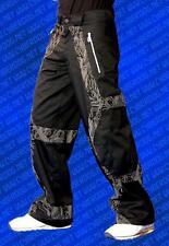 Cyberdog Grid skinny micro pants trousers circuit print goth cyber raver S