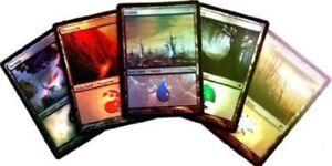 3-x-FOIL-Random-Land-Repack-NM-MTG-Magic-the-Gathering-English-Card-3-Get-1-Free