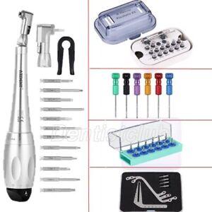 Dental Drehmomentschlüssel Ratsche mit Fahrer/Schraubendreher/Werkzeug Set