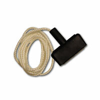 Chain Saw-lawnmower Rubber Starter Rope W Handle Steel Insert, 5 Starter Rope