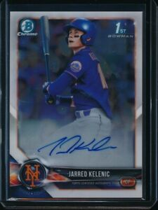 JARRED KELENIC AUTO 2018 1st Bowman Draft Chrome Autograph Mariners Rookie RC