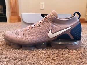 70350e6e2bd47 Nike Men s Air Vapormax Flyknit 2 Diffused Taupe Phantom Size 11 ...