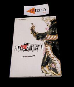 GUIA-GUIDE-BOOK-FINAL-FANTASY-VI-6-Basic-guidebook-SNES-Super-Famicom-Square