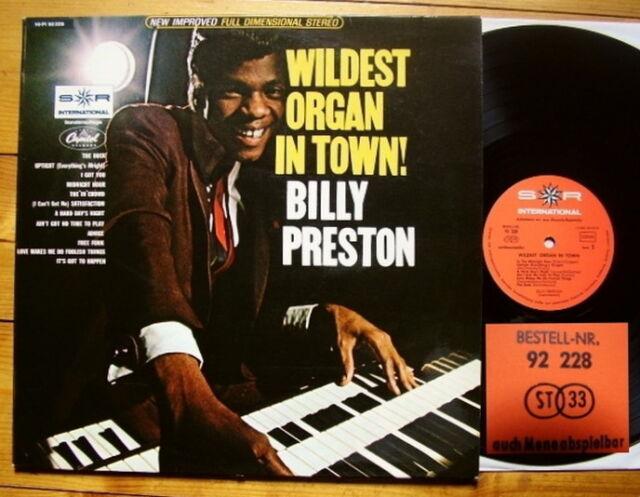 Billy Preston - Wildest Organ in Town German Club Edition S*R 92 228 - rare TOP