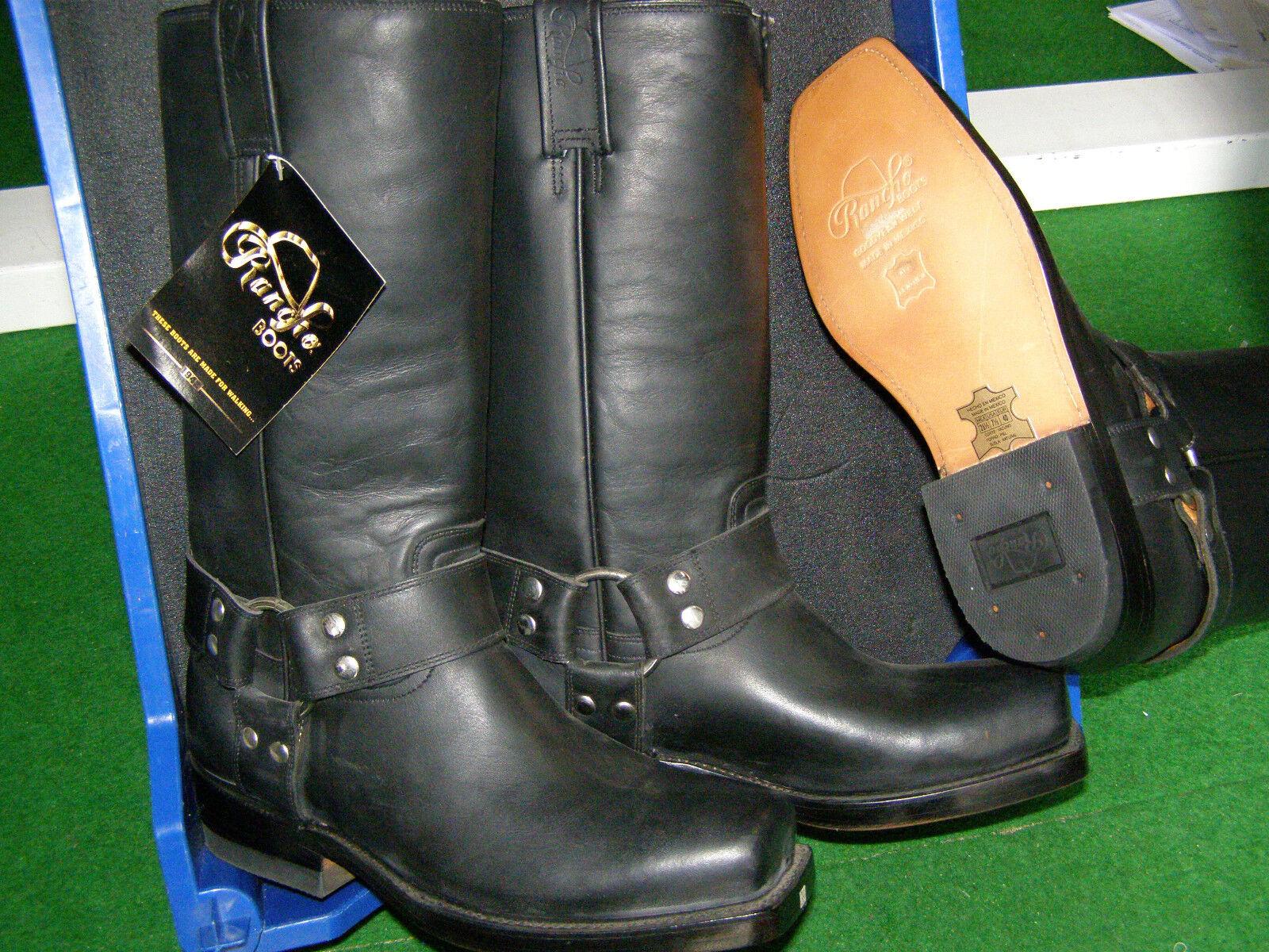 Bikerboots Westernstiefel Boots, Cowboystiefel   Rancho Boots, Westernstiefel EINZELSTÜCKE fecc8a