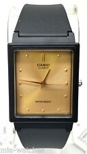 Casio MQ38-9A Mens GOLD Dial Classic Resin Casual Watch New Warranty