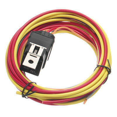 Electric Fan Relay Wiring Harness Thermostat Dual Sensor ...