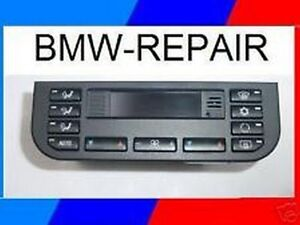 1999 3 Series Bmw Climate Control Module Repair Rebuild E36 Fix