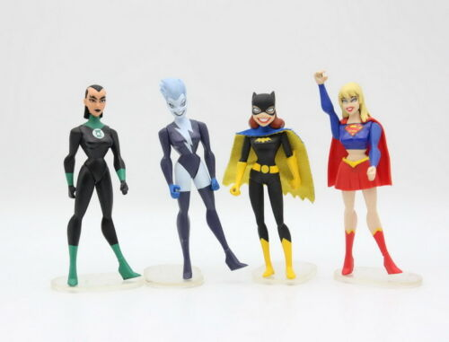 Super Hero DC Universe Supergirl Katma Batgirl LIVEWIRE JUSTICE LEAGUE UNLIMITED