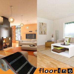 floorino 7 5 x 0 5m fu bodenheizung f r laminat parkett infrarot heizmatten ebay. Black Bedroom Furniture Sets. Home Design Ideas