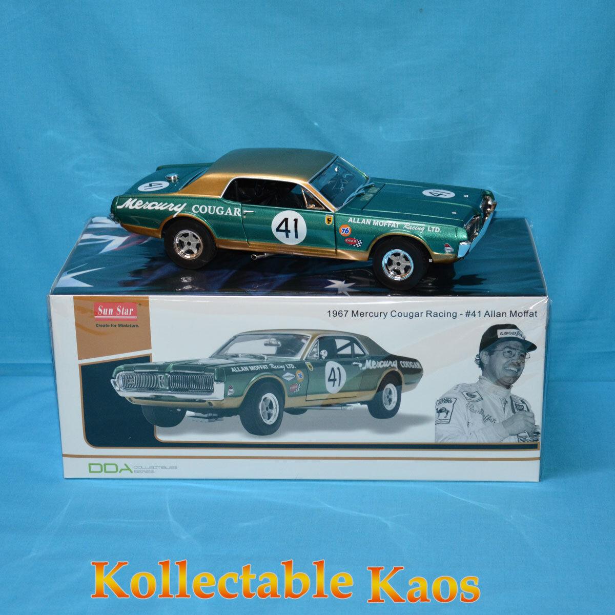 1 18 DDA - 1967 Mercury Cougar Racing -   41 Allan Moffat  dans les promotions de stade