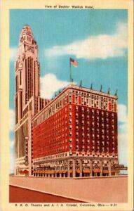 Deshler Wallick Hotel RKO Theatre AIU Citadel Columbus