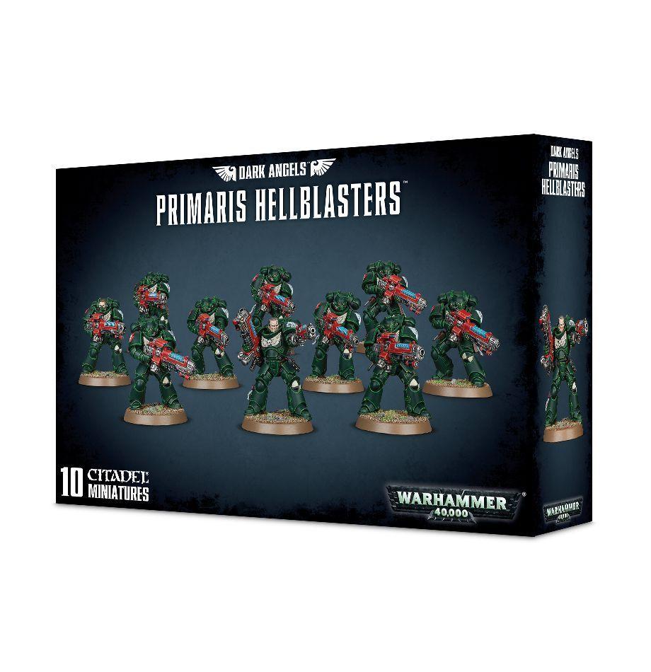 Dunkle engel primaris hellblasters games workshop space marine warhammer 40.000