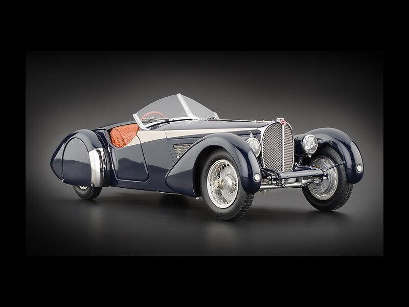 Cmc Bugatti 57 Sc Corsica Roadster Dark bluee 1938 Award Winning M-136