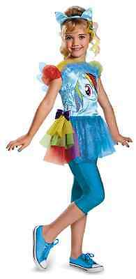 Rainbow Dash Classic My Little Pony Horse Fancy Dress Halloween Child Costume