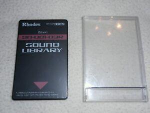 Agressif Rhodes Roland Card Sound Library Sn-u01-03r Ethnic U20,d70,mv30,660,670