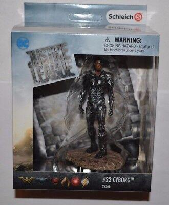 Schleich 22566 Cyborg 11 cm Justice leage SUPER HEROES boite cadeau série BD