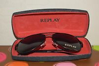 Replay Ry535s01 140-black Aviator Fashion Sunglasses