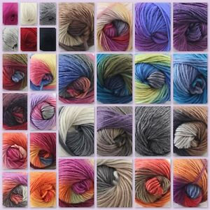 Sale-1Skeinx50g-NEW-Knitting-Yarn-Chunky-Hand-woven-Colorful-Wool-scarves-shawls